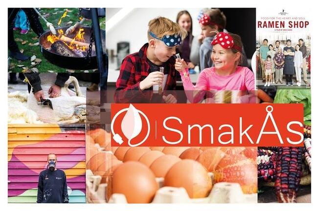 Sammensatt bilde av mange aktiviteter på SmakÅs