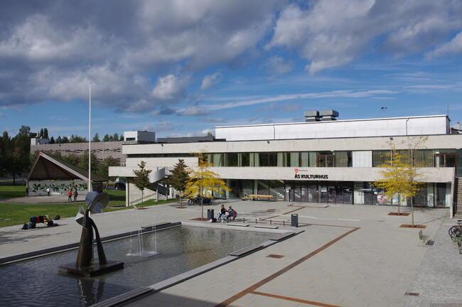 Ås kulturhus. Foto Ivar Ola Opheim