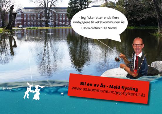 Meld flytting - bli en av Ås!