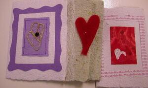 Kort med hjerter