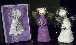 Lilla engler i papir
