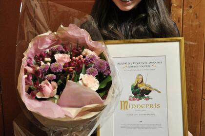 Ingrid Sofie Midtbø-Bruner vann Audhild Flaktveit Moxnes sin minnepris 2021